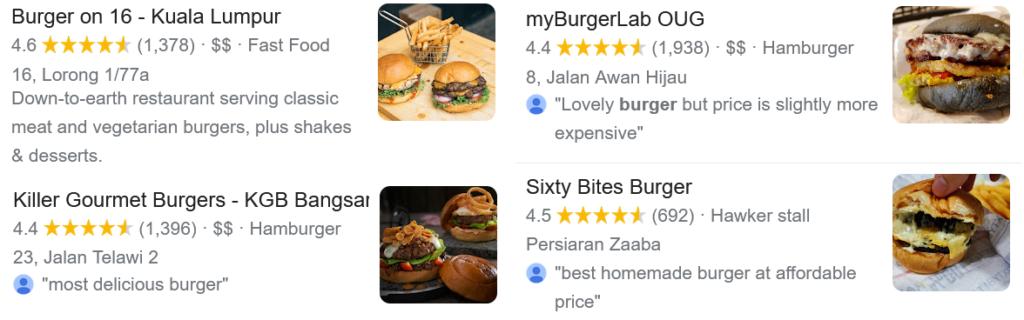 best burgers in klang valley