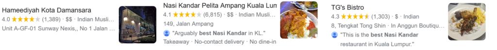 most popular nasi kandar klang valley reviews