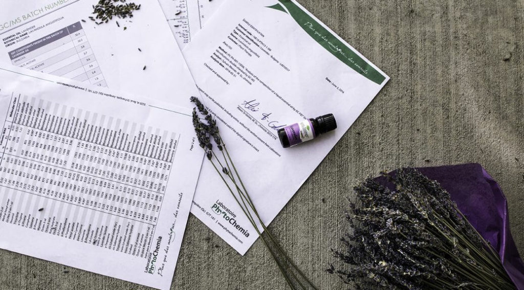 plant therapy test report lavender essential oil